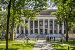 Harvard University Campus Stock Images