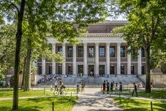 Harvard University Campus Stock Images