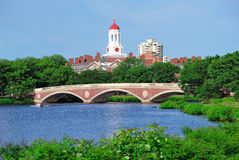 Harvard University Campus In Boston Stock Photo