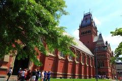Harvard University Church Stock Photo