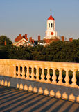 Harvard university from  John Weeks Memorial Foodbridge Royalty Free Stock Photos