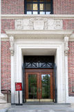 Harvard University Library entrance Royalty Free Stock Photo