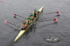 Harvard University Mens Fours Stock Images