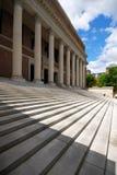 Harvard University - Widener L. Main entrance of Widener Library, Harvard University Royalty Free Stock Photography