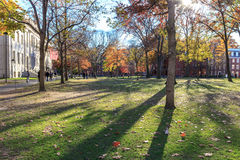 Harvard-Yard Lizenzfreie Stockbilder
