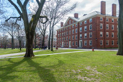 Harvard Yard in Spring Royalty Free Stock Image