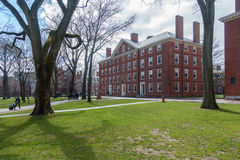 Harvard Yard in Spring Stock Photos