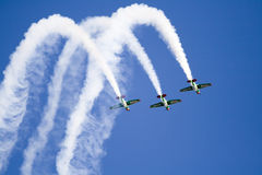 Harvards flying in formation Royalty Free Stock Photos