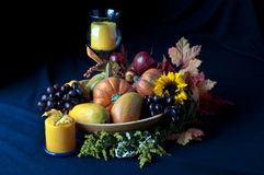 Harvest. Still life with fruits and vegetables Royalty Free Stock Photography