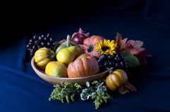 Harvest. Still life with fruits and vegetables Stock Photography