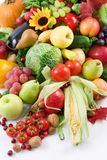 Harvest. Fresh fruits and vegetables Royalty Free Stock Images