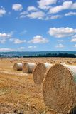 Harvest. Photo of harvest time taken on beautiful suny day royalty free stock photo