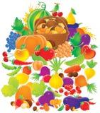 Harvest stock illustration