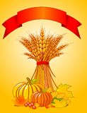 Harvest background Stock Photography