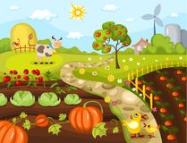 Harvest card Royalty Free Stock Images