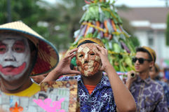 harvest celebrations in Indonesia Stock Photography