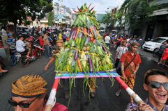 Harvest celebrations in Indonesia Royalty Free Stock Photography