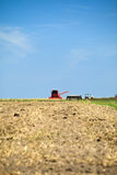 Harvest in the countryside Stock Images