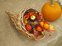 Harvest decoration Royalty Free Stock Photography