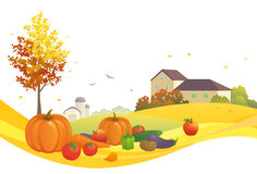 Harvest design Royalty Free Stock Images