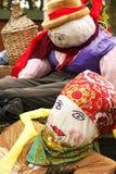 Harvest dolls (handmade) Royalty Free Stock Photos