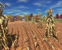 Harvest_farm_day stock image