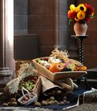 Harvest Festival Display. Royalty Free Stock Photo