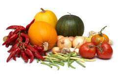 Harvest. Fresh ripe vegetables Royalty Free Stock Image