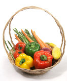 Harvest Fresh Veggies Royalty Free Stock Image