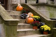 Harvest Home Front Stoop Stock Photos