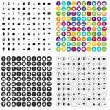 100 harvest icons set variant. 100 harvest icons set in 4 variant for any web design isolated on white royalty free illustration