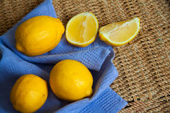Harvest of lemons Royalty Free Stock Photography