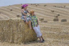 During the Harvest Royalty Free Stock Photos