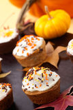 Harvest muffins Royalty Free Stock Photos