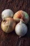 Harvest onion Stock Photos