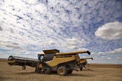 Harvest saskatchewan Canada royalty free stock images