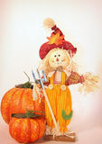 Harvest Scarecrow stock images