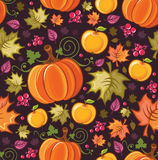 Harvest Seamless Pattern 4 Stock Photos