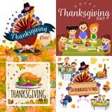 Harvest set, organic foods like fruit and vegetables, happy thanksgiving dinner background, vector illustration Royalty Free Stock Image