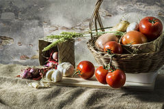 Harvest Still life photography Royalty Free Stock Images