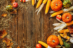 Harvest or Thanksgiving background Stock Images