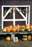 Harvest Time, New England Farm. Harvest time at a New England farm-stand Stock Photos