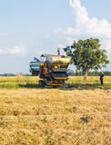 Harvest vehicle Royalty Free Stock Image