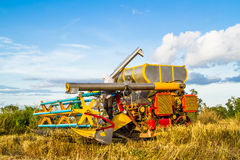 Harvest vehicle Royalty Free Stock Images