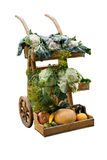 Harvest wheelbarrow Stock Image