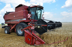 Harvest of winter wheat_2 Stock Photos