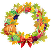 Harvest wreath Stock Photos