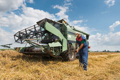 Harvester Royalty Free Stock Photography