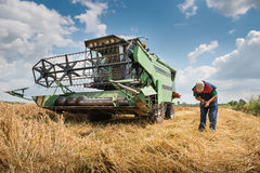 Harvester Stock Photography