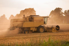 Harvester Stock Photo